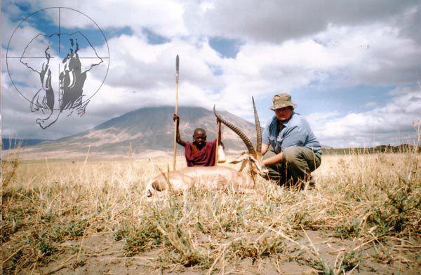 Grant Gazzelle hunting Tanzania