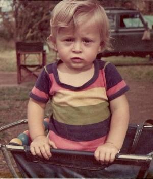 """Stefano in Kenya hunting camp 1975"""